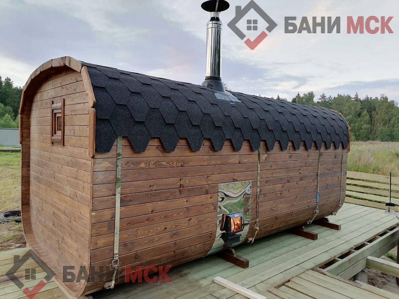 баня бочка под ключ в ленинградской области